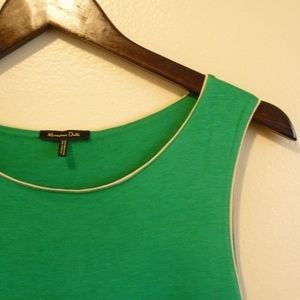 Massimo Dutti Green Dress sz S